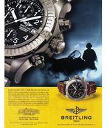 "Vintage : 2002 BREITLING ""CHRONOMETRE AUTOMATIC"" Watch AD Original - $4.99"