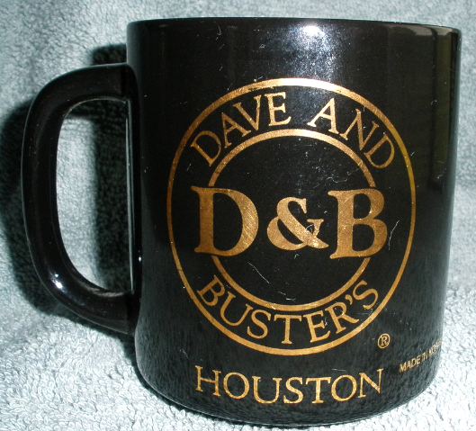 Dave & Buster's - Houston Mug