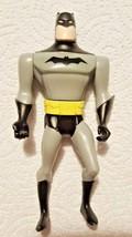 Kenner Vintage 90s Gray Black BATMAN Superhero Action Figure DC Comics T... - $11.87