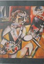 Piatnik Marc Chagall Self Portrait With Seven Digits 1000 pc Jigsaw Puzzle - $17.81