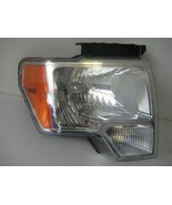 2009 10 11 12 13 14 Ford F150 RH Psngr Halogen Headlight Assembly OEM 44... - $63.65