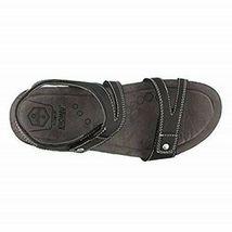 Khombu Women's Ava Sport Comfort Footbed Outdoor Black Sandals image 5