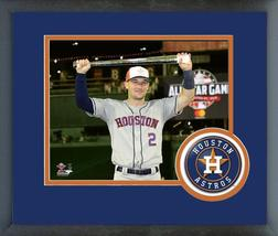 Alex Bregman with All-Star Game MVP Trophy 2018 MLB All-Star Game Framed Photo - $43.55