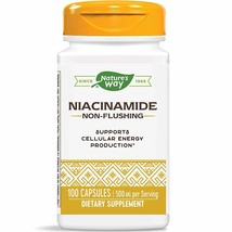 Nature's Way Niacinamide Non-Flushing  500mg - 100 Capsules (Packaging M... - $9.12