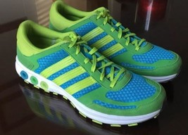 ADIDAS La Trainer II 2 Women's Blue Green  Running Tennis Sneakers Shoes... - $49.45