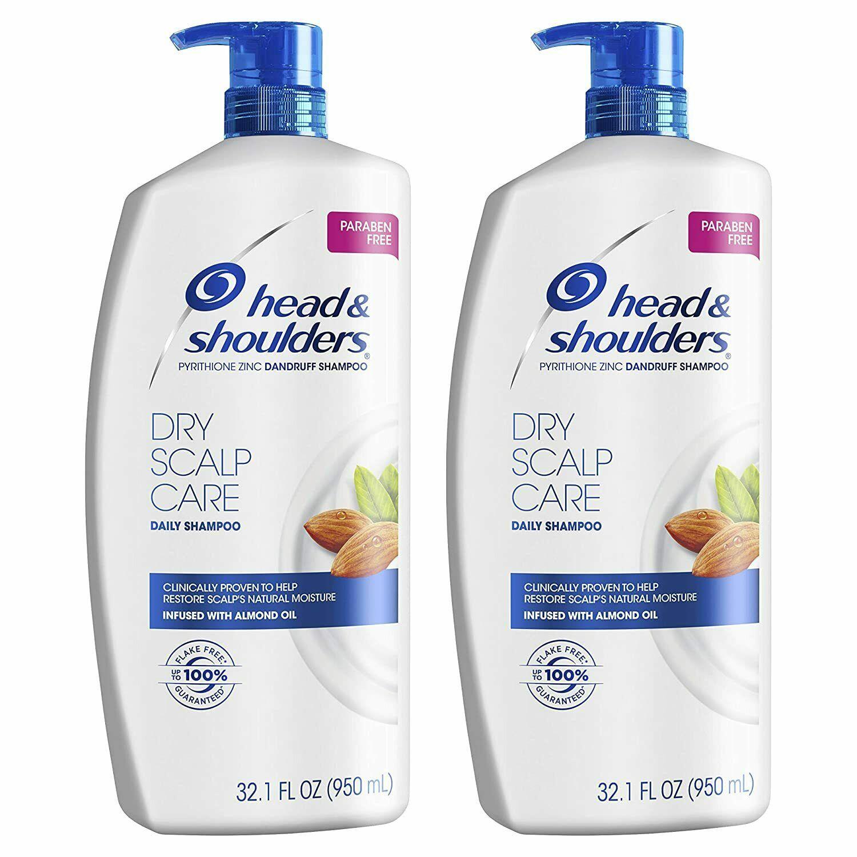 Head and Shoulders Shampoo Anti Dandruff Treatment Dry Scalp Care 32.1 fl oz ... - $26.74