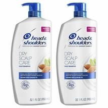Head and Shoulders Shampoo Anti Dandruff Treatment Dry Scalp Care 32.1 f... - $26.72