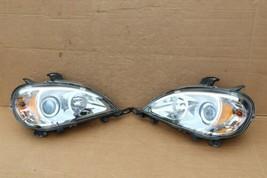 02-05 Mercedes W163 ML320 ML350 ML430 Halogen Projector Headlight Set L&R
