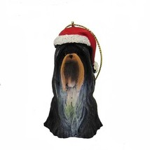 Shih Tzu w/Santa Hat Ornament - $12.95