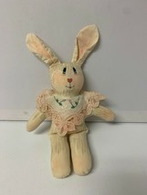 Vintage Matthew Thomas Plush Bunny Rabbit Give Me Color Easter - $19.35