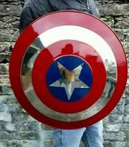 100% Stainless Steel Marvel's Captain America's Shield, Metal Prop Repli... - $219.00