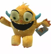 Kohls Cares Plush Yellow Monster Dont Play With Your Food Bob Shea With Tag - $9.89