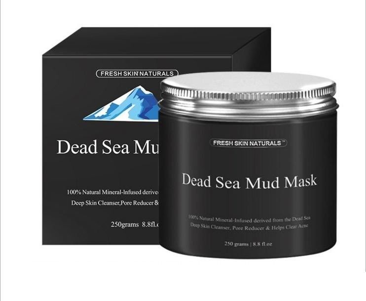 Primary image for 15x Fresh Skin Naturals Dead Sea Mud Mask Facial Cleanser, Anti-Aging, Tone, 8.8