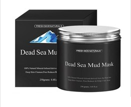 15x Fresh Skin Naturals Dead Sea Mud Mask Facial Cleanser, Anti-Aging, T... - $67.27