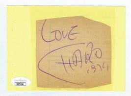 Charo Signed Vintage 1974 Album Page JSA COA - $29.69