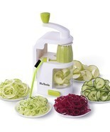 Spiralizer Vegetable Slicer, HuTools Zucchini Spaghetti Maker, Built-in ... - ₹2,194.98 INR