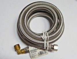 """Dishwasher MK472B Stainless Steel Braided Connector 3/8"""" Pack of 2 New image 3"""