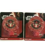 2x Star Wars Night Light - x-wing squadron resistance new sealed 4-7 wat... - $12.74