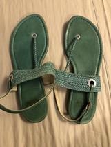 Stuart Weitzman Size 8 Women's Leather Sandals Summer Shoe's - $38.60