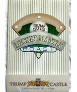1980 Mickey Mantle Roast At Trump Castle Casino Invitation Packet (See D... - $197.01