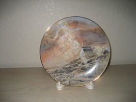First Christmas Eve Bethlehem 1977 Collector Plate & Stand Gerald Miller... - $8.86