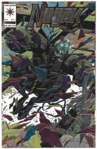 Ninjak #1 VF/VF+ 1994 Valiant Comics Key issue Movie Foil cover Chromium - $4.54