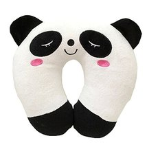 Set Of 2 Cute U Shaped Home/Office Healthy Neck Pillow Travel Neck Pillow,Panda
