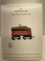Hallmark Keepsake Lionel Nutcracker Route Tender Ornament New In Box - $5.89