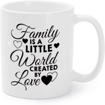 Family Love Clothing - A Little World Created By Love Coffee Mug - $16.95