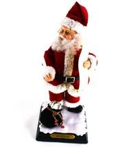 "North Pole Productions 19"" Santa Talks Sings Deck The Halls - $49.49"
