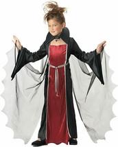 California Costumes Girls Vampire Costume Vampiress Large 10-12 - $21.24