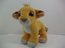 "Simba Cub Plush Toy Vintage 1993 8"" Stuffed Animal Authentic The Lion King - $14.84"