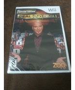 RARE Deal or No Deal Special Edition (Nintendo Wii, 2010) Rated E Game S... - $35.74