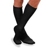 Jobst 8-15mmHg Sensifoot Knee Black Large - Jobst 110868 - $13.29