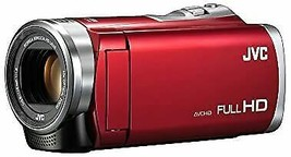 JVC Everio 8GB Built-in Memory Full HD Camcorder GZ-E880 Red - $390.16