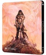 HOLIDAY GIFT Deal! CONAN Bluray Movie, Great Steelbook! Schwarzenegger! ... - $49.99