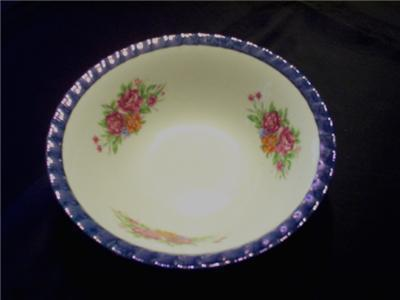 Primary image for YAMATSU JAPAN PATTERN YTS2 BLUE LUSTER BOWL FLUTED