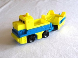 GeoTrax Freightway Transport Push Truck Tractor Trailer Fisher-Price Yel... - $3.99