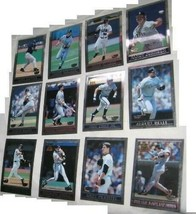 Lot 12 1998 topps super chrome jumbo collector card - $27.79
