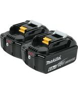 Makita Power Tool Battery 6.0 Ah 18-Volt Lithium-Ion Impact-Resistant (2... - $313.95