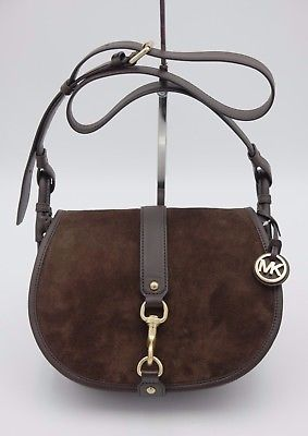 445112fc2f081 NWT MICHAEL Michael Kors Jamie Brown Suede and 50 similar items. 1