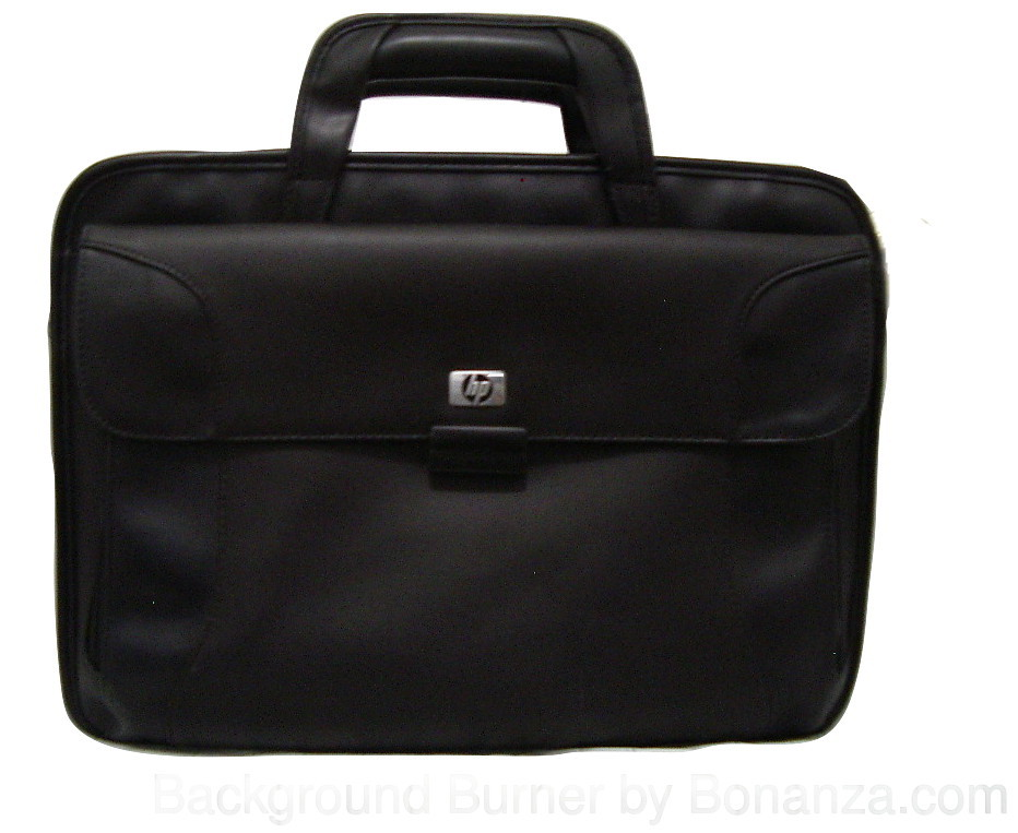 hp black laptop and portable printer bag laptop cases bags. Black Bedroom Furniture Sets. Home Design Ideas