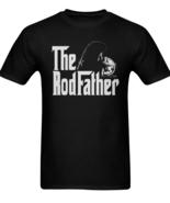 The Rod Father Fishing Shirts Men's Tee T-Shirt Angler Fisherman Reel Lu... - $19.97+