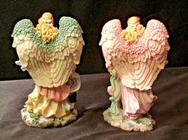 Pair of Angel Figurines in box AA-192051 Vintage image 6