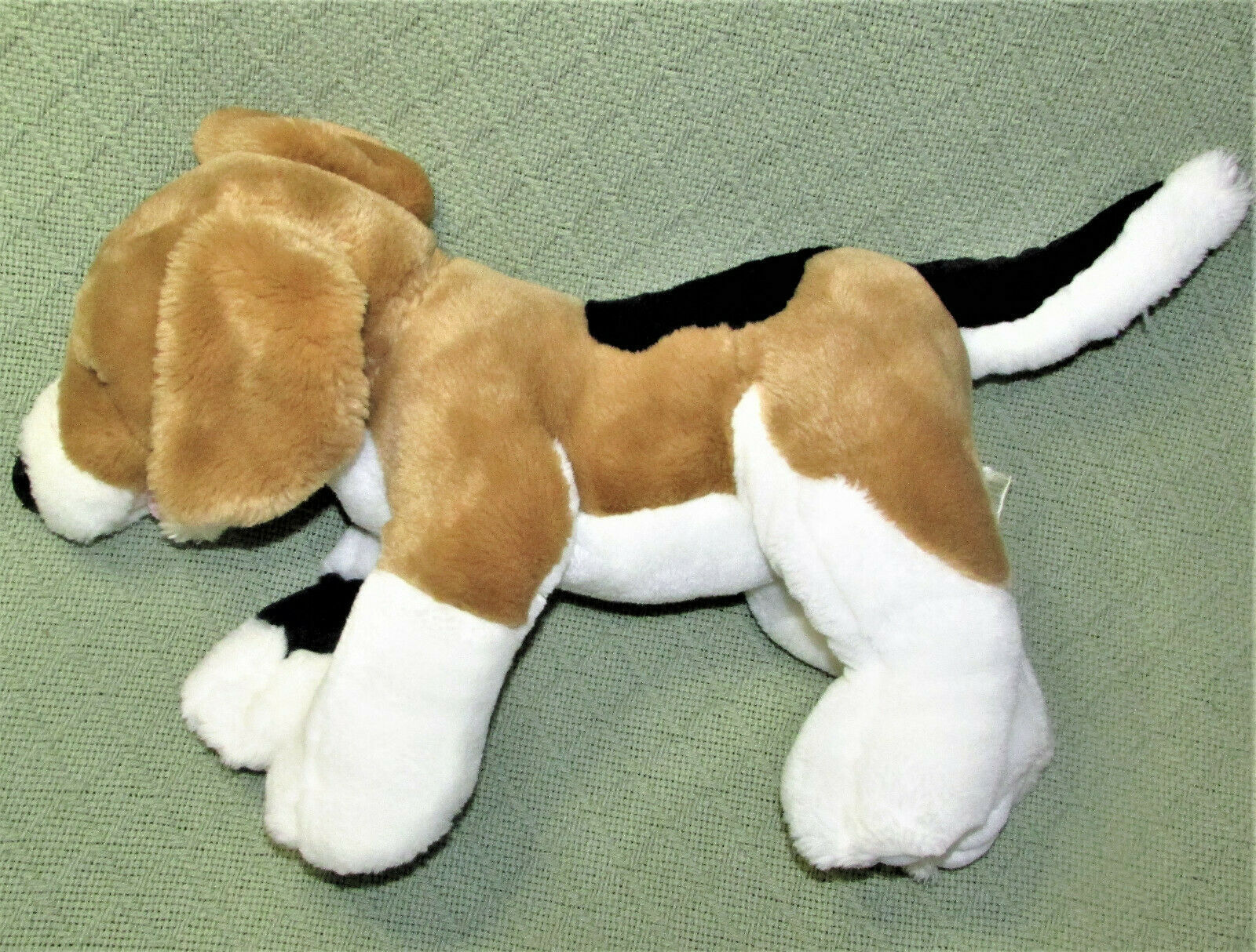 "Primary image for BUILD A BEAR BEAGLE DOG 18"" STUFFED ANIMAL PUPPY TAN WHITE BLACK MAGNET MOUTH"