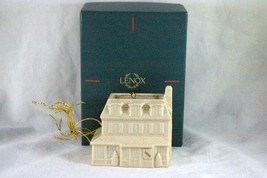 Lenox 1990 Village Inn Bone China Christmas Ornament - $9.00