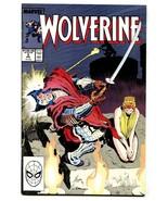 Wolverine #3-VF/NM-Marvel Comic Book-1989 - $18.92