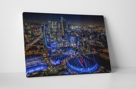 """Los Angeles Downtown Skyline Gallery Wrapped Canvas Print 30""""x20"""" or 20""""x16"""" - $44.50+"""