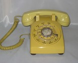Western electric rotary dial desktop harvest gold telephone thumb155 crop