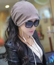 Fashion Casual Design Plain Womens Beanie Hat Cool Snap Backs 4 Colours ... - ₨378.86 INR
